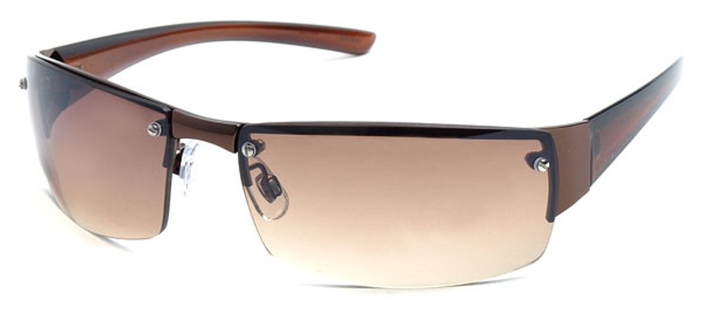 f0a7be0799 Semi-Rimless Sport Sunglasses for Men and Women