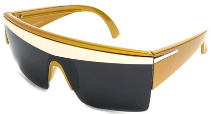 Angle of SW Celebrity Style #1403 in Yellow Frame, Women's and Men's
