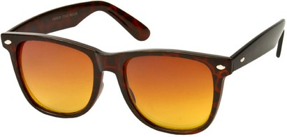 Angle of SW Retro Driving Style #876 in Brown Tortoise Frame, Women's and Men's