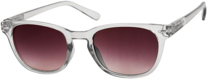Angle of Cariboos #1981 in Grey Frame, Women's and Men's Retro Square Sunglasses