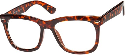 Angle of SW Nerd Style #9189 in Glossy Tortoise Frame, Women's and Men's