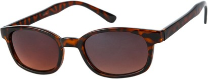 Angle of Wyoming #1537 in Tortoise Frame with Driving Lenses, Women's and Men's Retro Square Sunglasses
