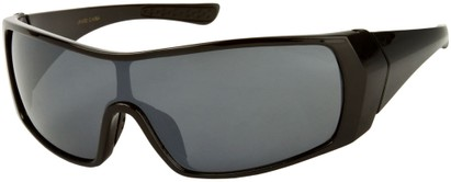 Angle of SW Sport Style #855 in Black Frame, Women's and Men's