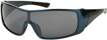Angle of SW Sport Style #855 in Dark Blue Frame, Women's and Men's