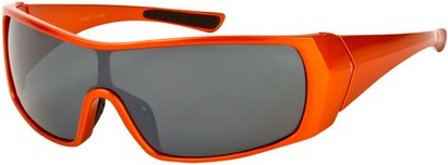 Angle of SW Sport Style #855 in Orange Frame, Women's and Men's