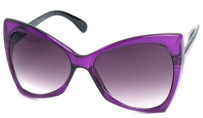 Angle of SW Celebrity Style #510 in Purple Frame, Women's and Men's