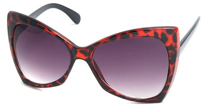 Angle of SW Celebrity Style #510 in Red Tortoise Frame, Women's and Men's