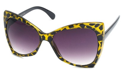 Angle of SW Celebrity Style #510 in Yellow Tortoise Frame, Women's and Men's