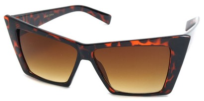 Angle of SW Celebrity Style #31203 in Tortoise Frame, Women's and Men's