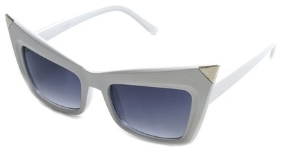 Angle of SW Fashion Style #13010 in White Frame, Women's and Men's