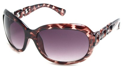 Angle of SW Oversized Style #3070 in Pink Tortoise Frame, Women's and Men's