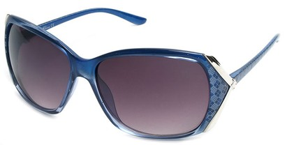 Angle of SW Plaid Style #542910 in Blue Frame, Women's and Men's