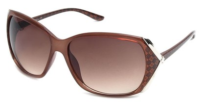 Angle of SW Plaid Style #542910 in Brown Frame, Women's and Men's
