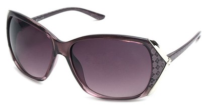 Angle of SW Plaid Style #542910 in Dark Purple Frame, Women's and Men's