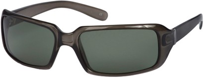 Angle of SW Polarized Style #1949 in Grey Frame, Women's and Men's