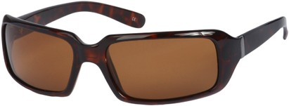 Angle of SW Polarized Style #1949 in Tortoise Frame, Women's and Men's