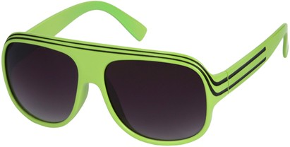Angle of SW Celebrity Style #1960 in Green and Black Frame, Women's and Men's