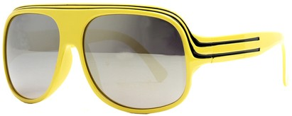 Angle of SW Celebrity Style #1961 in Yellow and Black Frame, Women's and Men's
