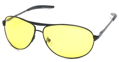 Angle of SW Polarized Driving Style #2045 in Black Frame, Women's and Men's