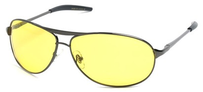 Angle of SW Polarized Driving Style #2045 in Glossy Grey Frame, Women's and Men's