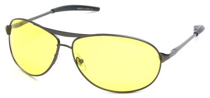 Angle of SW Polarized Driving Style #2045 in Matte Grey Frame, Women's and Men's