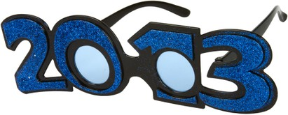 Angle of SW 2013 Party Glasses in Blue, Women's and Men's