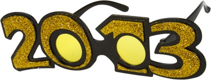 Angle of SW 2013 Party Glasses in Gold, Women's and Men's