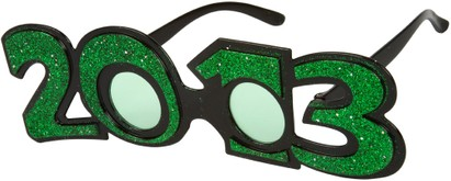 Angle of SW 2013 Party Glasses in Green, Women's and Men's