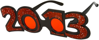 Angle of SW 2013 Party Glasses in Red, Women's and Men's