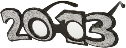 Angle of SW 2013 Party Glasses in Silver, Women's and Men's