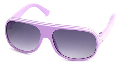 Angle of SW Kid's Style #20250 in Light Purple Frame, Women's and Men's
