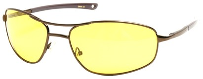 Polarized Yellow Driving Sunglasses