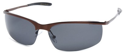 Angle of SW Polarized Style #5012 in Bronze Frame, Women's and Men's