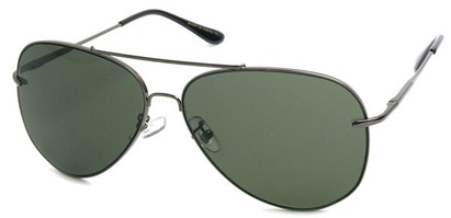Angle of SW Aviator Style #18600 in Grey, Women's and Men's