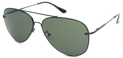 Angle of SW Aviator Style #18600 in Black, Women's and Men's