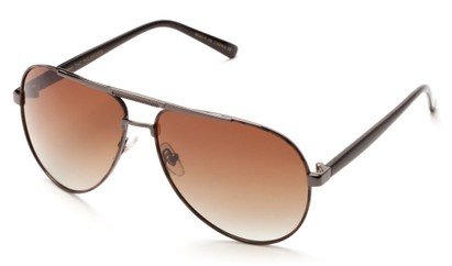 Angle of Tibet #2084 in Tortoise and Gray Frame with Amber Lenses, Women's and Men's Aviator Sunglasses