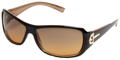 Angle of SW Fashion Style #241 in Brown and Tan Frame, Women's and Men's