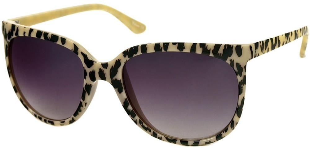 Oversized Retro Sunglasses  retro leopard print oversized sunglasses in pastel colors