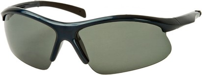 Angle of Runner #7677 in Dark Blue/Black Frame, Women's and Men's Sport & Wrap-Around Sunglasses