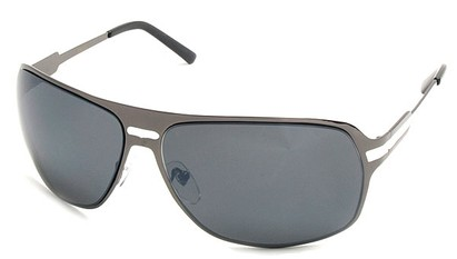 Angle of SW Aviator Style #5078 in Grey and White Frame, Women's and Men's