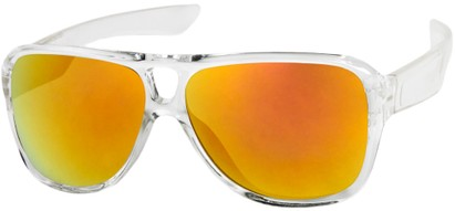 Revo Mirrored Aviator Sunglasses