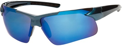 Mirrored Sport Style Sunglasses