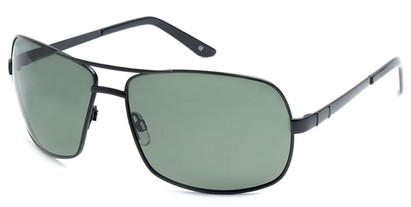 Angle of SW Polarized Aviator Style #515 in Black Frame, Women's and Men's