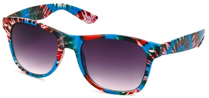 Angle of SW Retro Style #8185 in Blue Multi, Women's and Men's