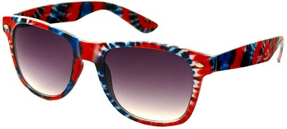 Angle of SW Retro Style #8185 in Red Multi, Women's and Men's