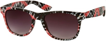 Angle of SW Retro Style #8185 in Red Black, Women's and Men's