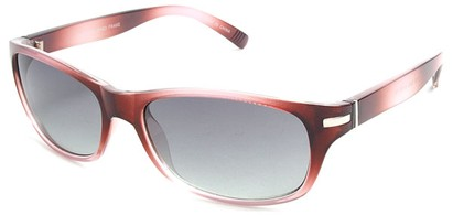Angle of SW Retro Style #2713 in Red Frame, Women's and Men's