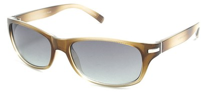 Angle of SW Retro Style #2713 in Tan Frame, Women's and Men's