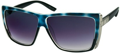 Angle of SW Rock Star Style #123 in Blue Tortoise and Black, Women's and Men's