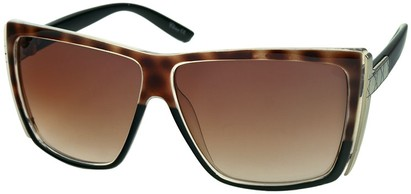 Angle of SW Rock Star Style #123 in Brown Tortoise and Black, Women's and Men's
